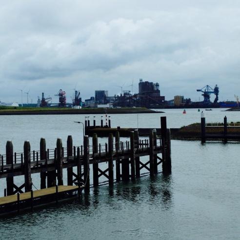 L'impressionant port de Rotterdam