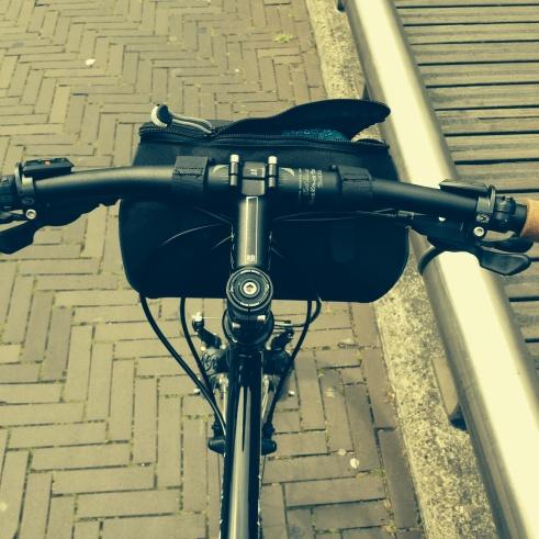 Au pays bas, la plupart des pistes cyclables sont joliment pavées